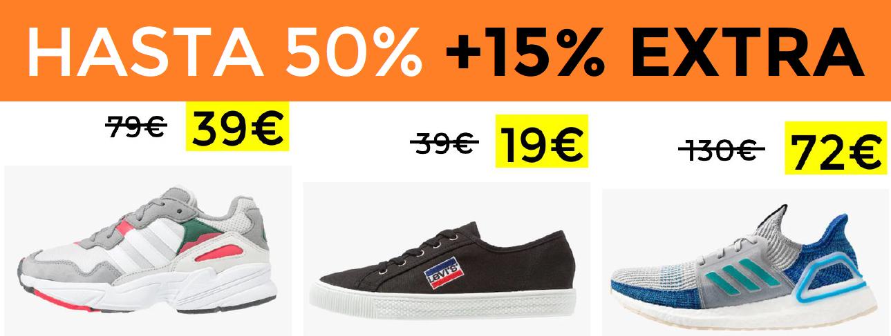 Hasta 50% +15% EXTRA en rebajas  Zalando