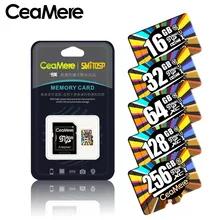 Tarjeta Micro SD 32 GB U1 Clase 10 CeaMere + Adaptador SD + Lector USB 2.0