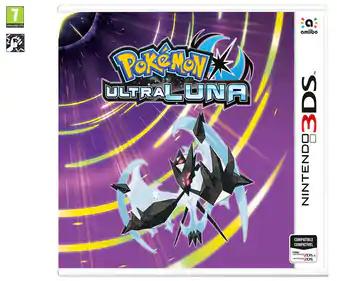 Videojuego Pokemon Ultra Luna para Nintendo 3DS