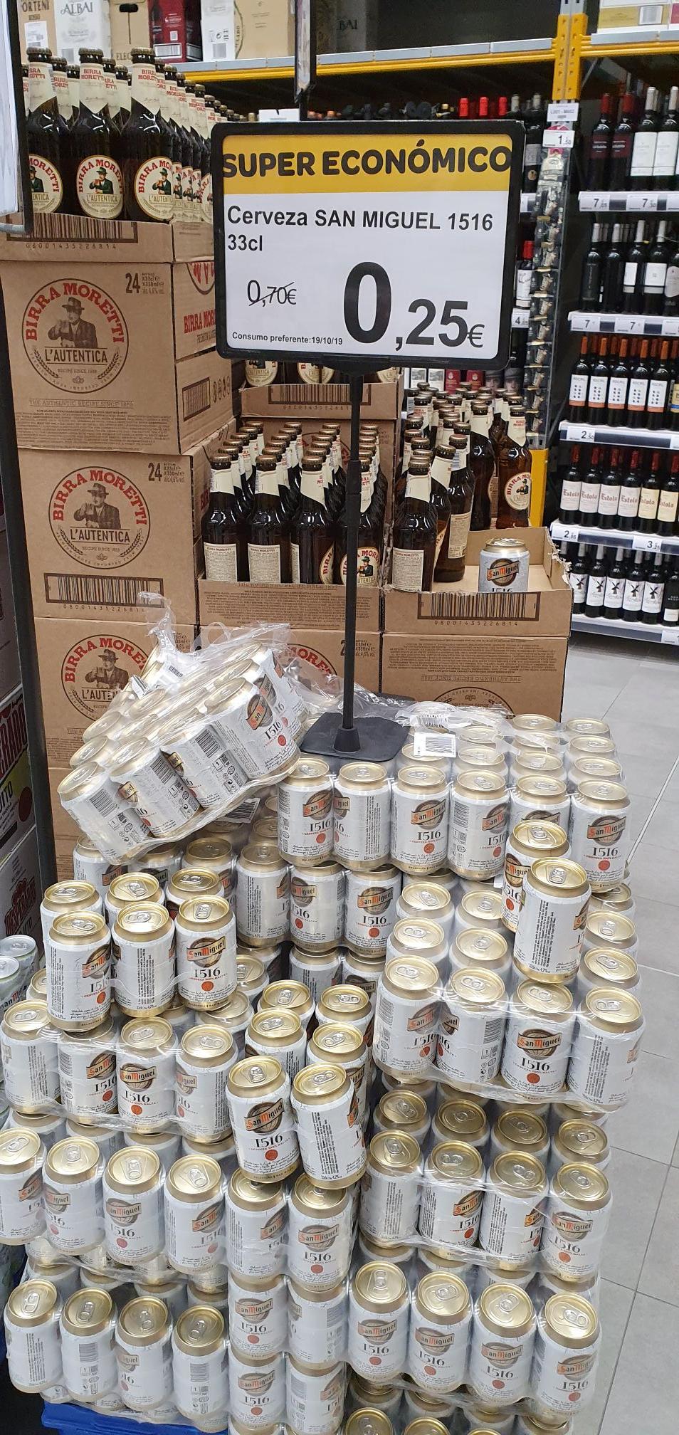 Cerveza San Miguel 1516 - Supeco Villaverde