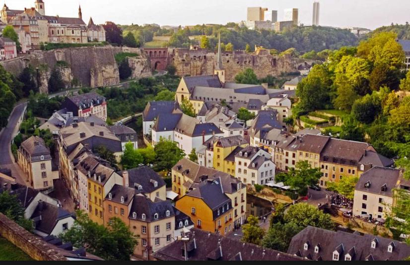 Vuelo (ida y vuelta) Madrid-Luxemburgo por solo 38€