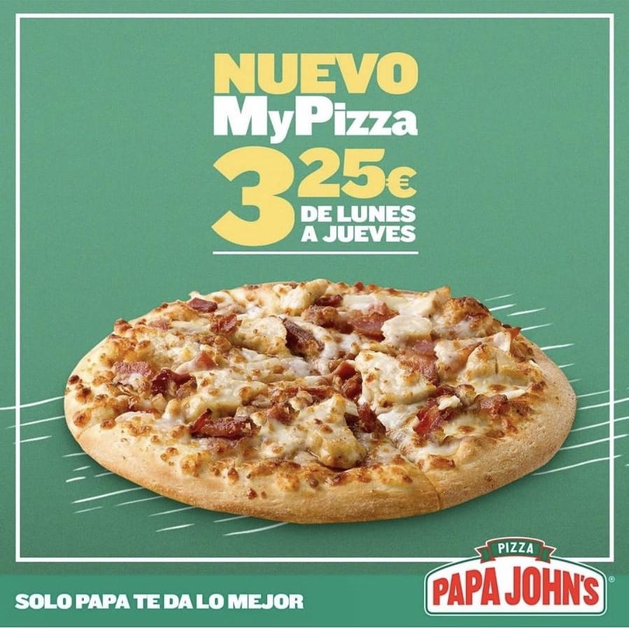 Pizza individual por SOLO