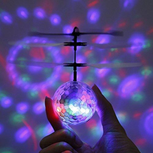 Dron Bola Voladora con luces