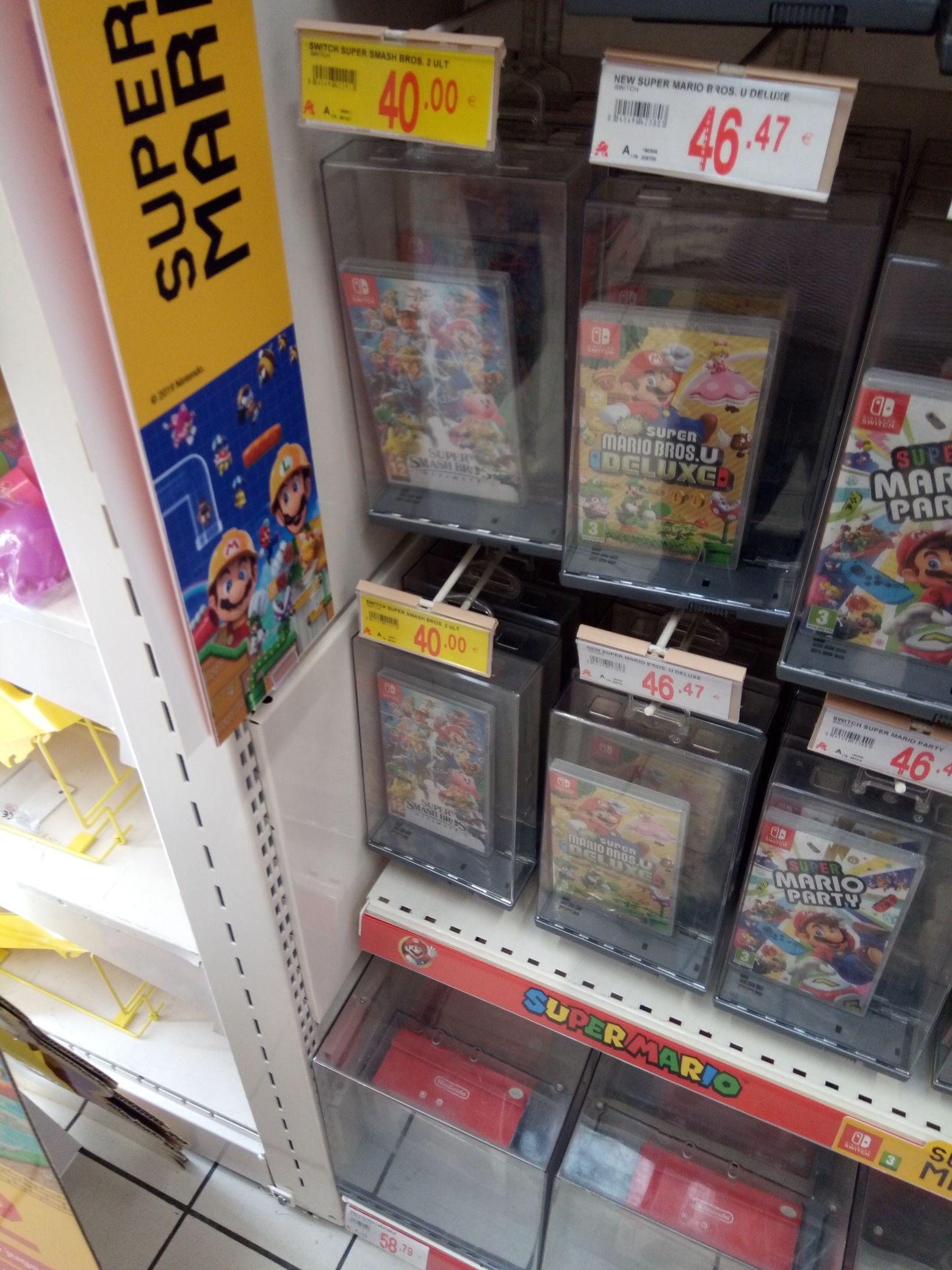 Super Smash Bros ultimate a 40 euros