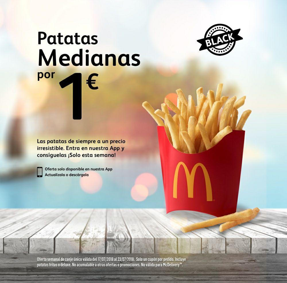 Patatas medianas