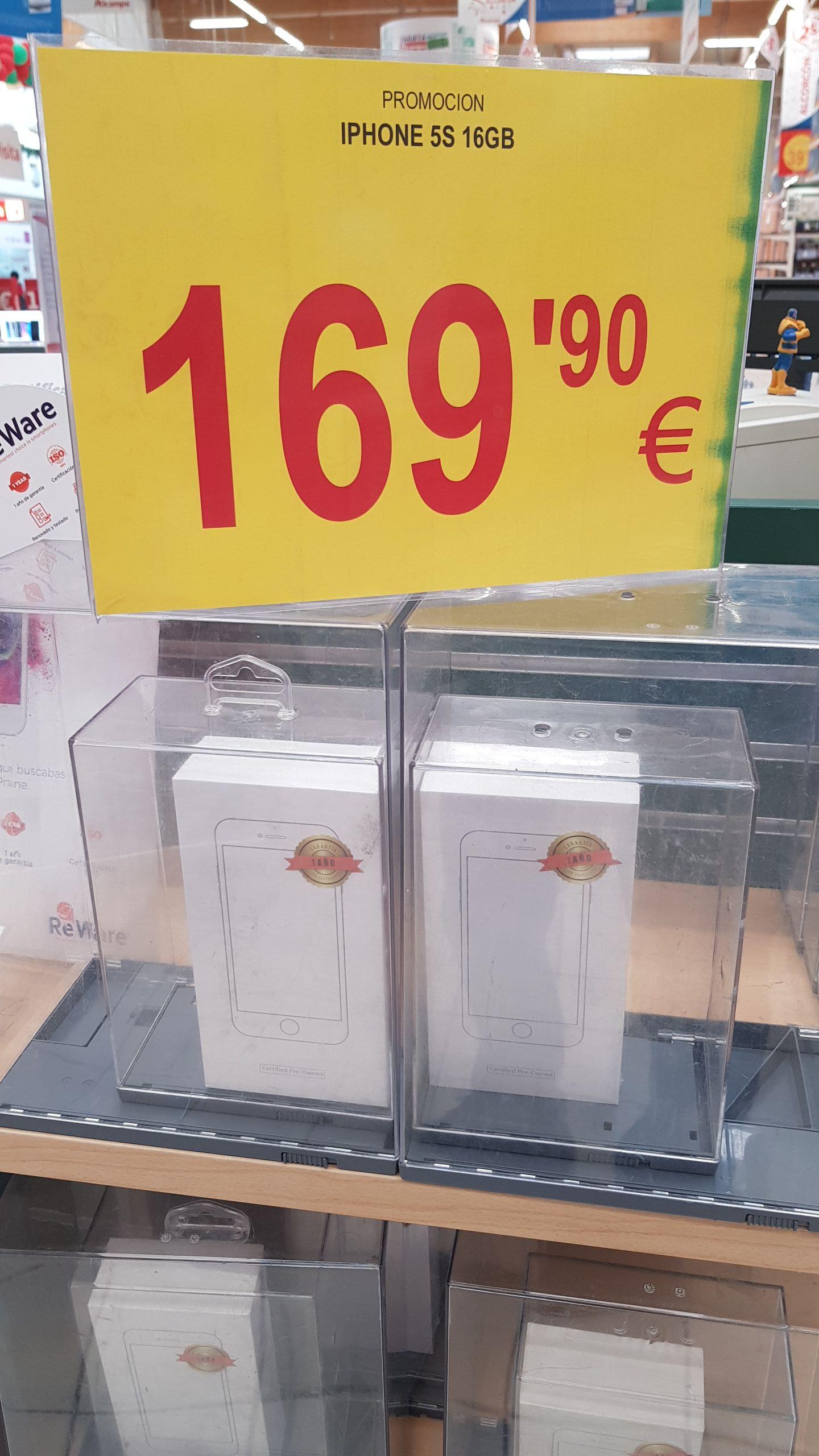 Iphone 5s 16 gb nuevo