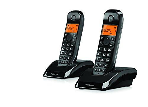Motorola S1202 Duo - 2 Teléfonos fijo inalámbricos