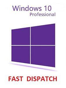 Windows 10 Pro Profesional 32/64bit código de producto de clave de licencia