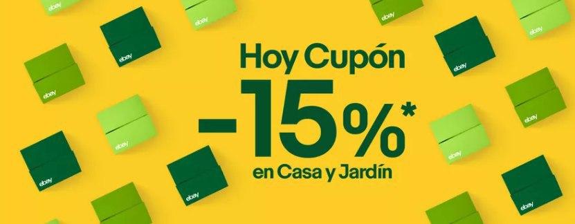 15% Extra eBay en hogar y jardín