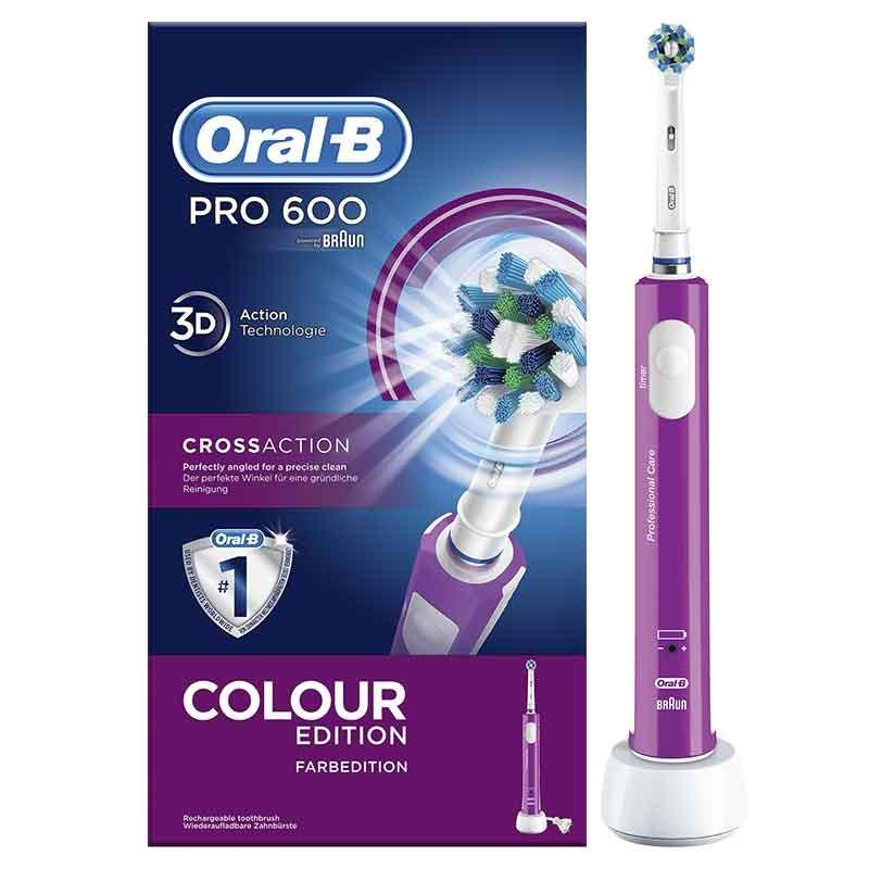 Braun Oral-B PRO 600 para lavar los dientes de la pizza de dominos