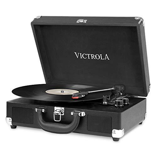 Victrola Suitcase Tocadiscos en maleta Vintage Bluetooth