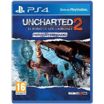 Uncharted 2:El reino de los ladrones Remasterizado PS4 FNAC