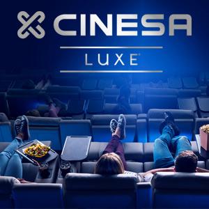 Cinesa Luxe: Mañanas 5,90€ (L-V) y 7,90€ (S-D)