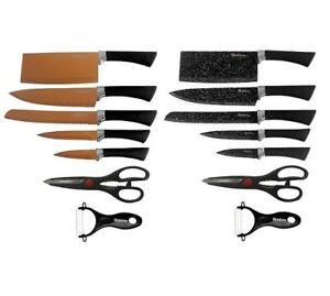 SET 5 cuchillos+tijeras+pelador Ebay