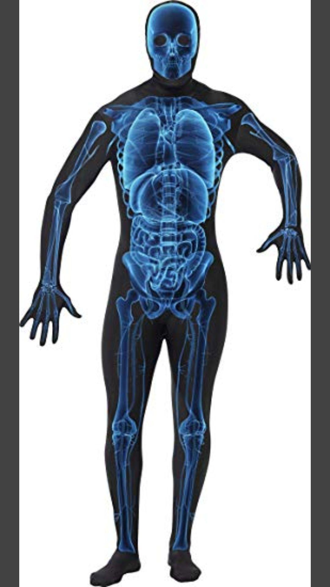 Disfraz Hombre Radiografía Segunda Piel