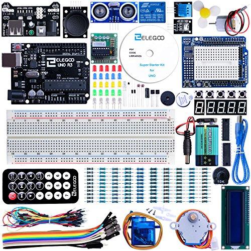 Conjunto Medio de Iniciación a UNO para Arduino con Guías y Tutorial en Español