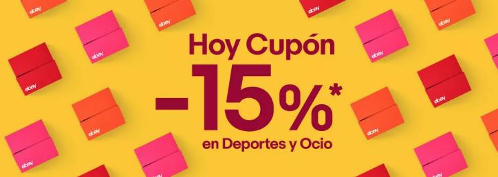 15% Descuento en Selección Deporte y Ocio en Ebay