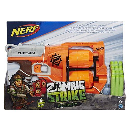 Pistola Nerf Zombie Strike Flipfury