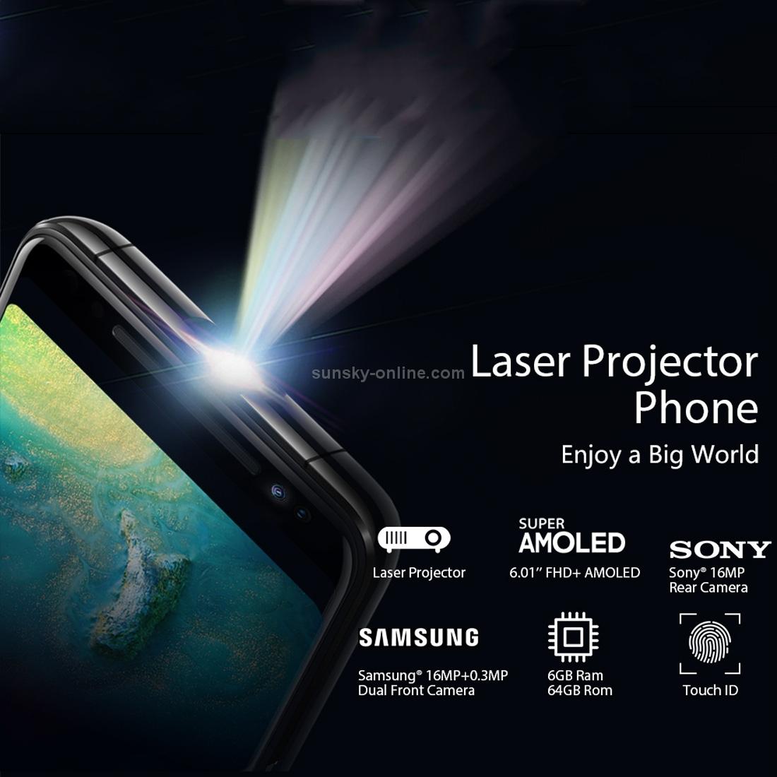 Smartphone con proyector incorporado!!!! Blackview Max 1 6Gb+64Gb