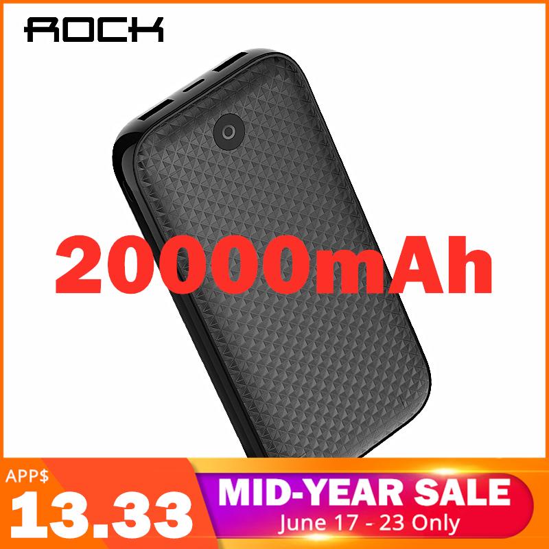 Batería externa portátil 20000mAh