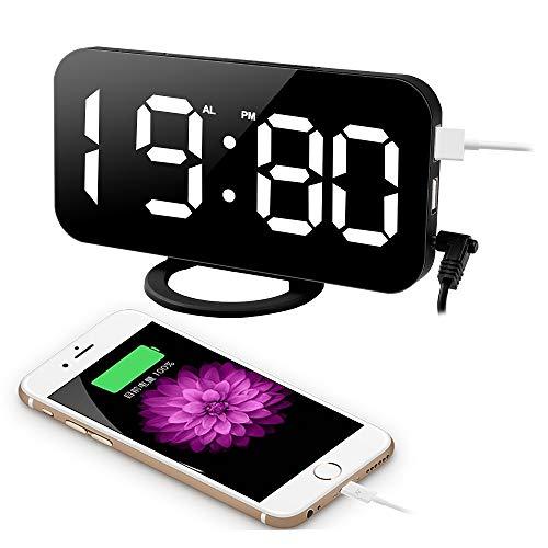 Reloj Despertador con estación de carga USB