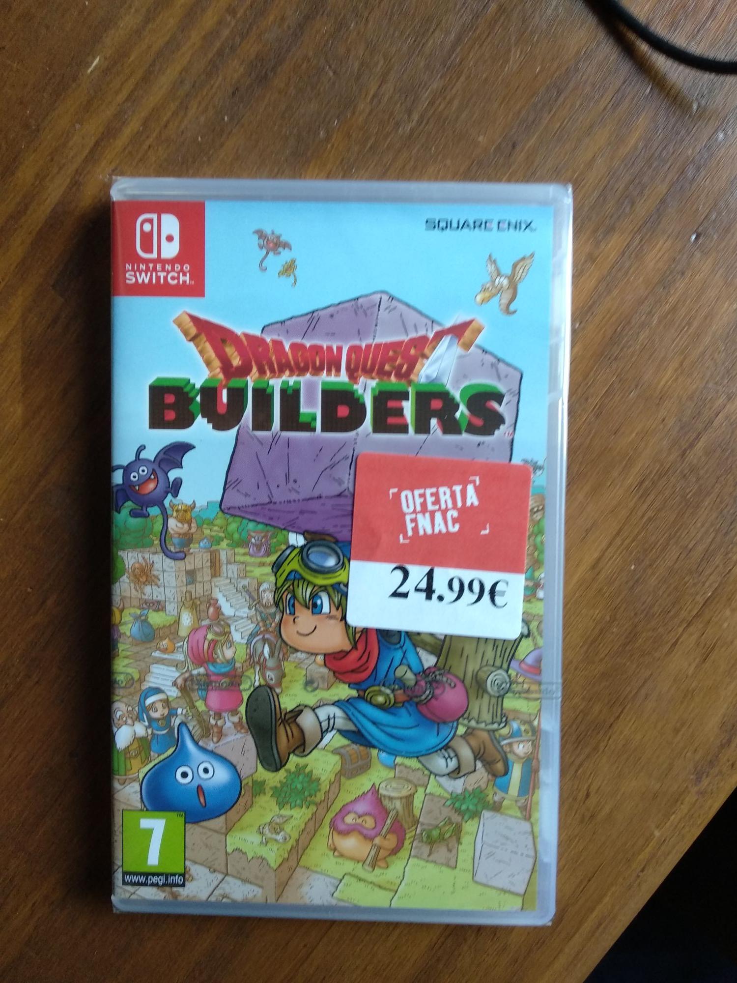 Dragon Quest Builders Nintendo Switch en Fnac de Plaza Río