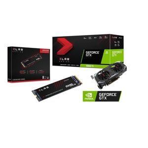 GeForce GTX 1660 TI 6GB XLR8 Gaming OC Limited Edition + SSD PNY M.2 de 250GB