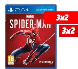 3x2 en videojuegos y películas seleccionadas