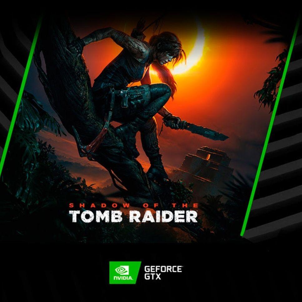 ¡Compra GeForce GTX Series 10 y consigue GRATIS Shadow of the Tomb Raider!