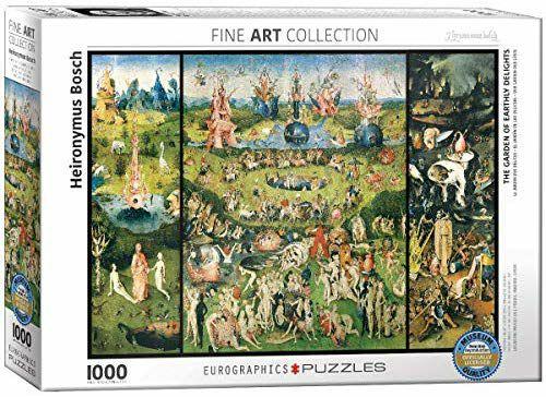 Puzzle El jardín de las delicias 1000 piezas