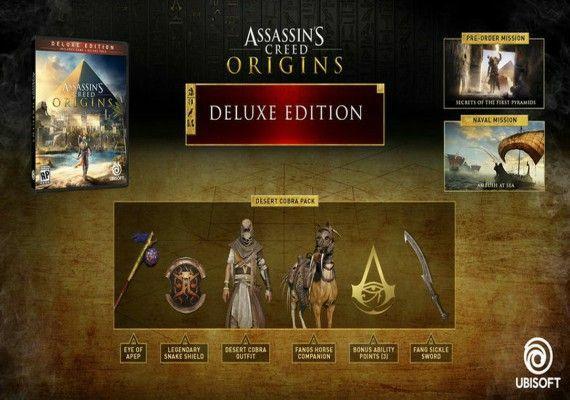 Assassin's Creed Origin: Deluxe Edition [UPLAY] + 9,40€ de Cashback