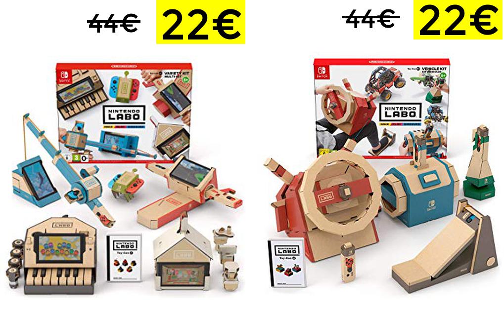 Sets de Labo Nintendo Switch solo 22€