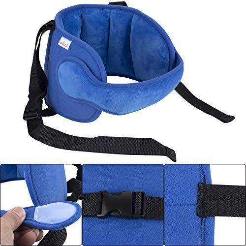 Banda seguridad sujeta cabeza parael asiento de Coche para Niños/as