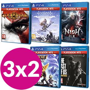 Playstation HITS selección 3x2 solo 39€
