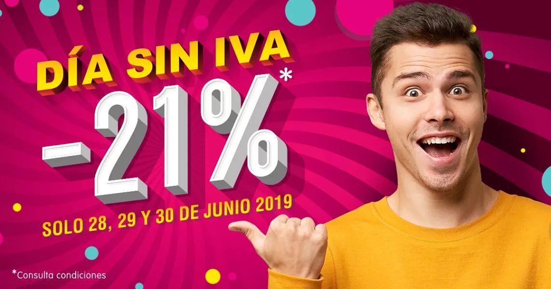 Días sin IVA en CashConverters (-21% dto)