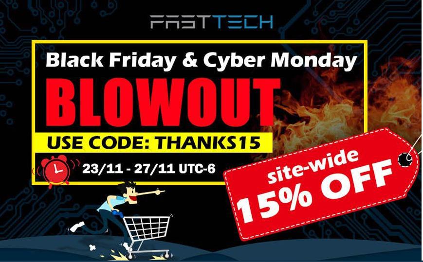 15% De descuento en Fasttech