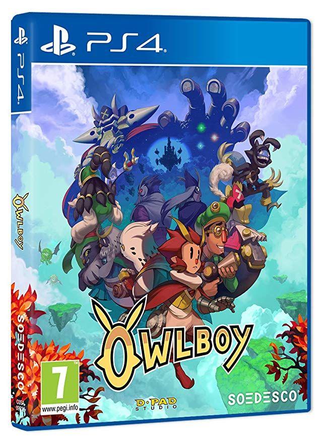 Owlboy para playstation 4