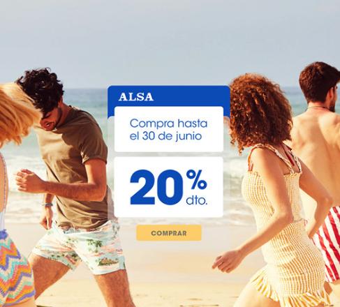 ¡20% de descuento en ALSA! Compra hasta el 30 de junio