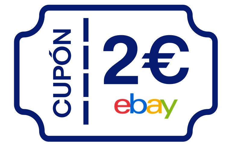 2 cupones de 2€ Ebay sin minimo