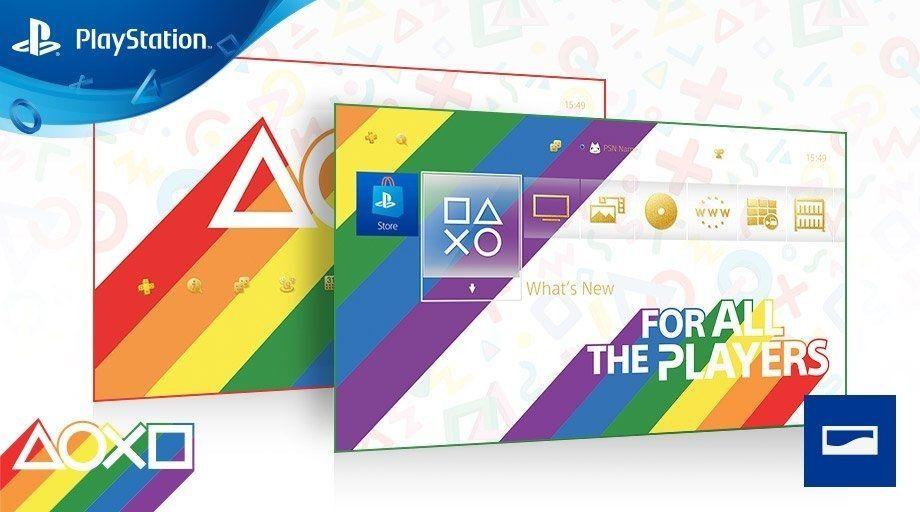 Tema GRATUITO PS4 Orgullo LGBT