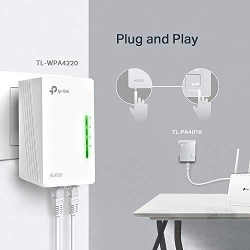 Adaptador Wifi PLC por línea eléctrica