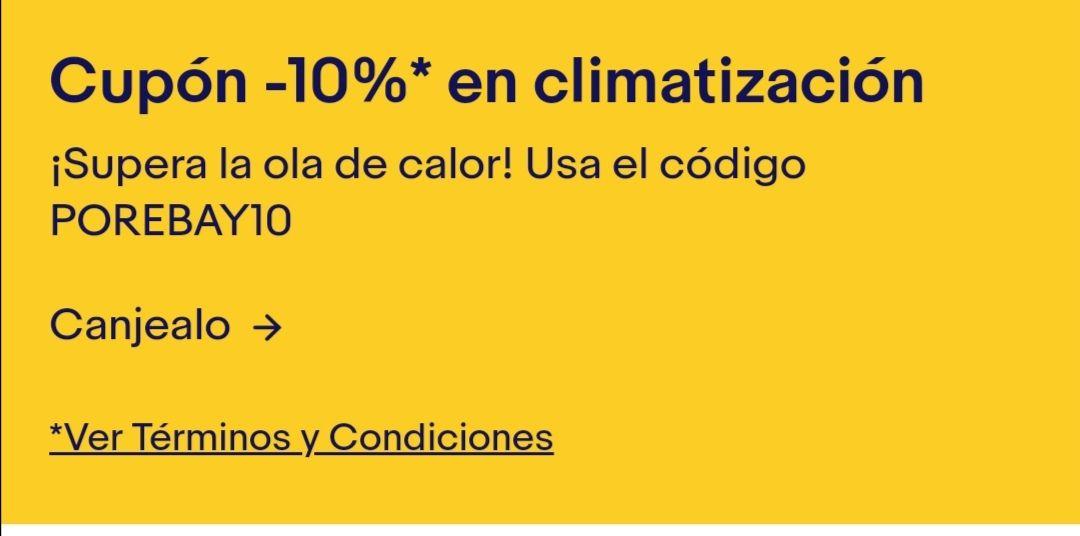 10% de descuento en climatización
