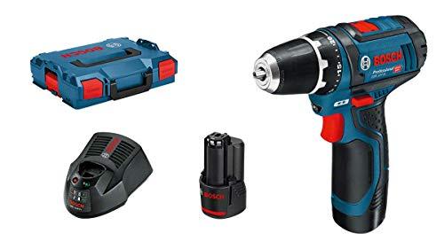 Bosch Atornillador a batería (2 baterías x 2,0 Ah, 12V, en L-BOXX) / Opción con extras