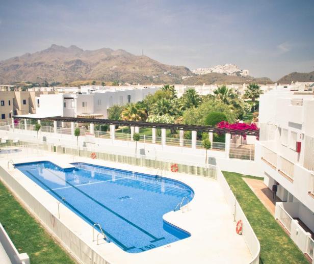 7 noches en Mojácar en Septiembre 349€: apartamento para 4 personas
