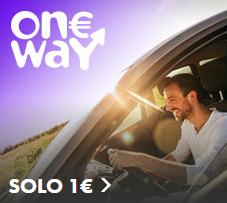Alquiler de coche solo 1€ con EuropCar OneWay