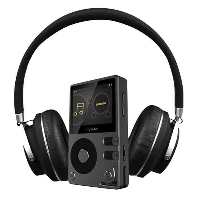 Auriculares diadema Vieta Pro HP10 Hi-Res + Reproductor Hi-Res Player MP1