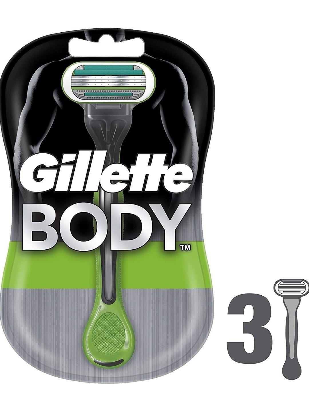 Maquinilla depilación Gillette Body Hombre