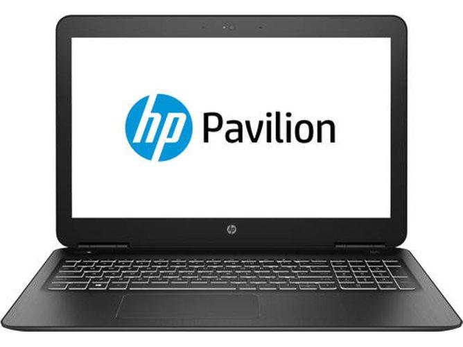 Portátil HP Pavilion 15.6'',  i7-8750H, RAM: 8 GB, 1 TB HDD + 128 GB SSD,GTX 1050 Ti