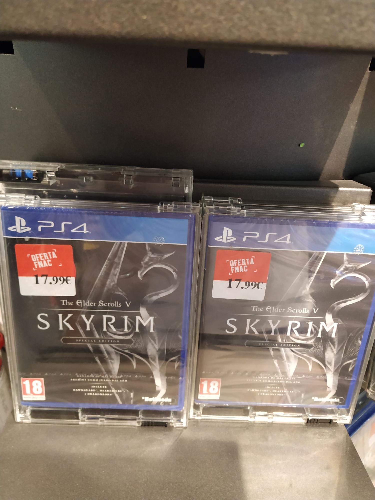 Skyrim Edicion Especial Ps4