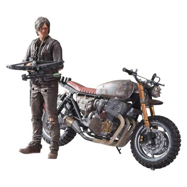 Figura The Walking Dead Daryl con la Moto